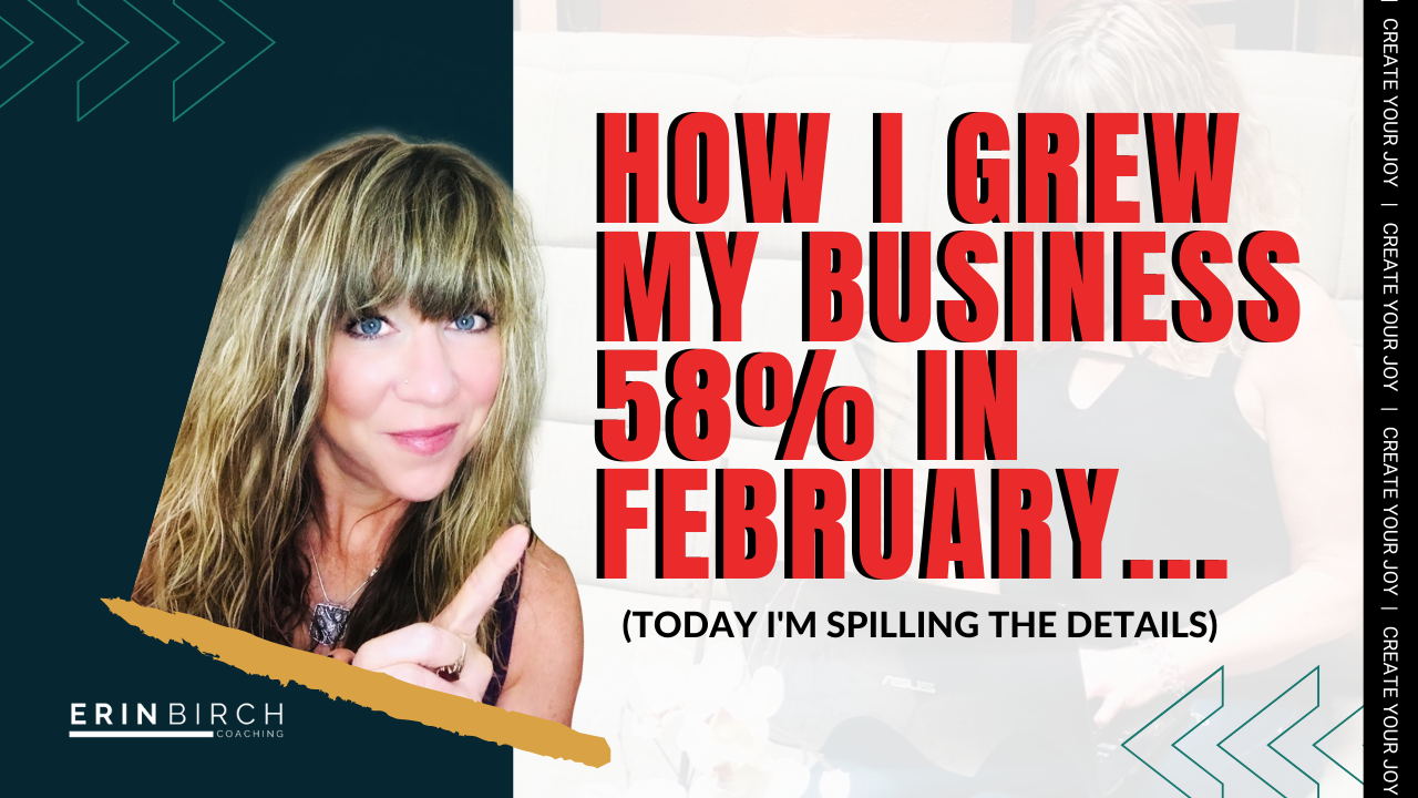 Online Network Marketing Tips How I grew my business by 58% in February