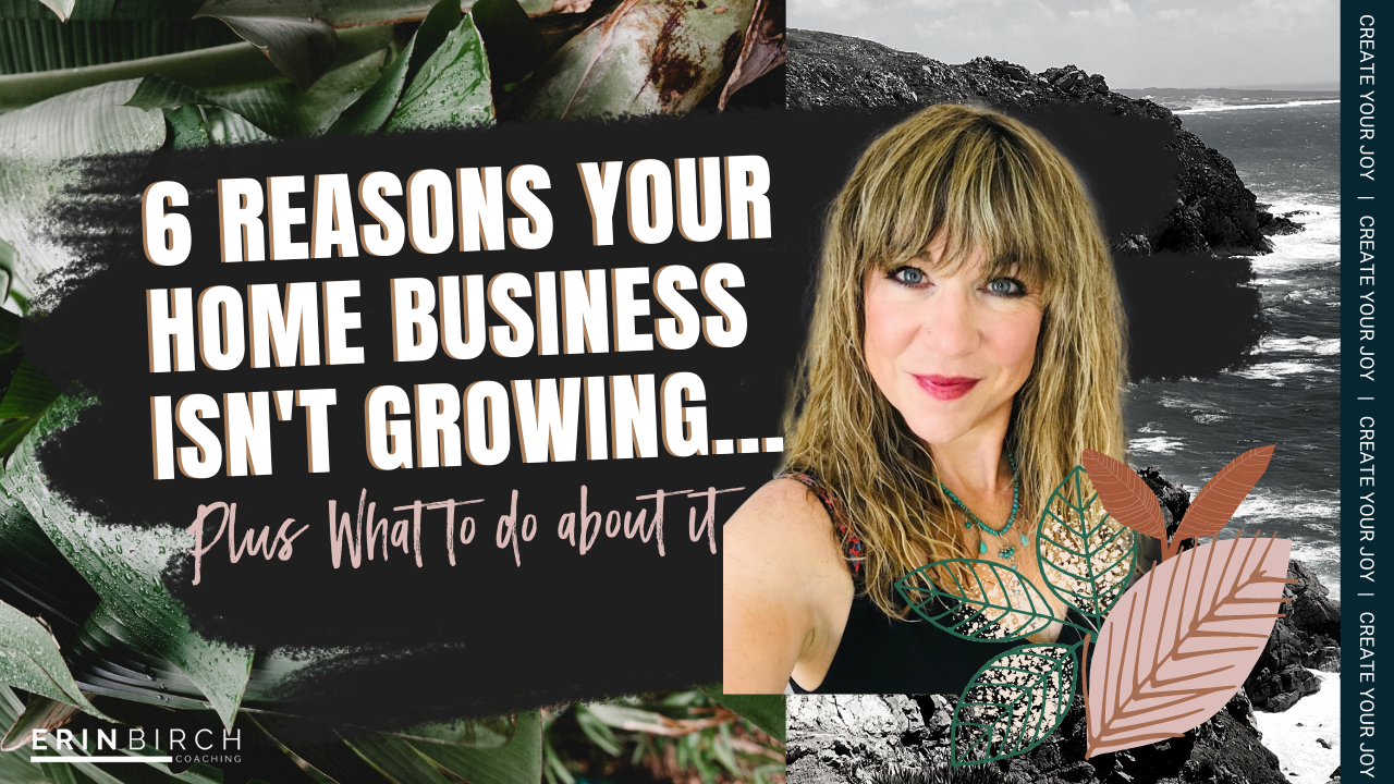 6 Reasons Your Home Business Isn't Growing